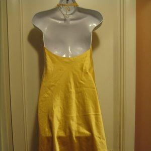 Laundry By Shelli Segal Dresses - Laundry Yellow Silk Dress 10